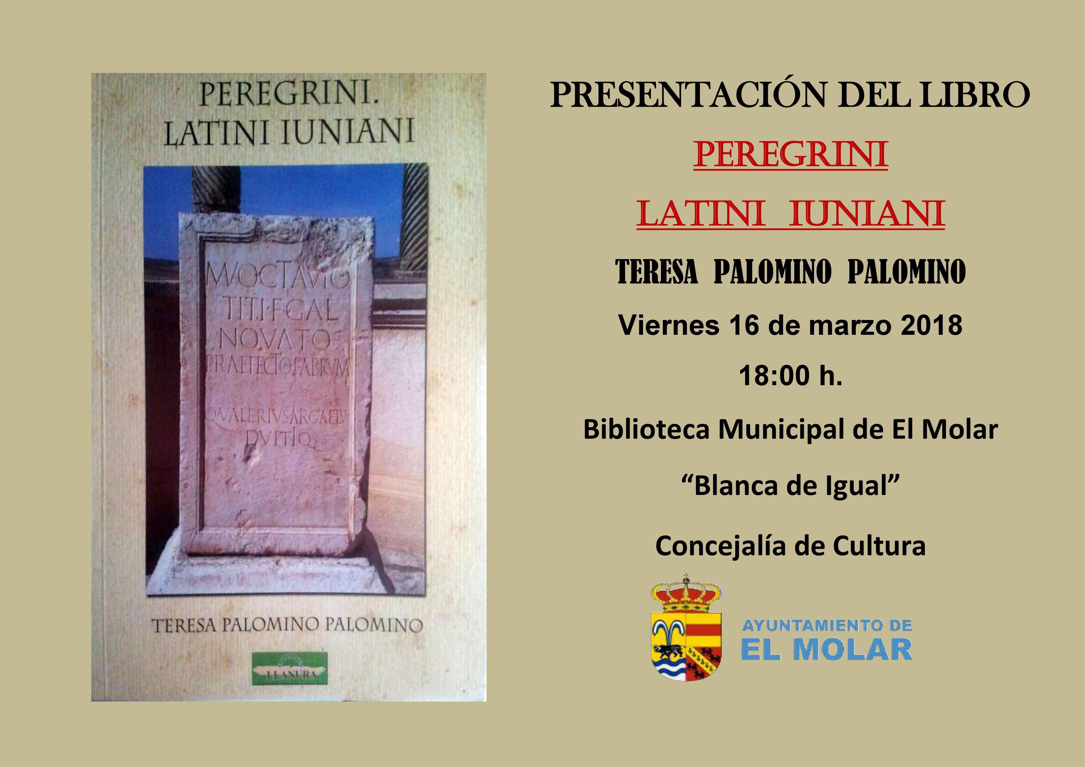 Ayuntamiento de El Molar: presentación del libro de Teresa Palomino