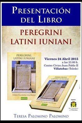 """Conmemorando el Día del Libro, se presentará la novela histórica titulada """"Peregrini latini iuniani"""""""
