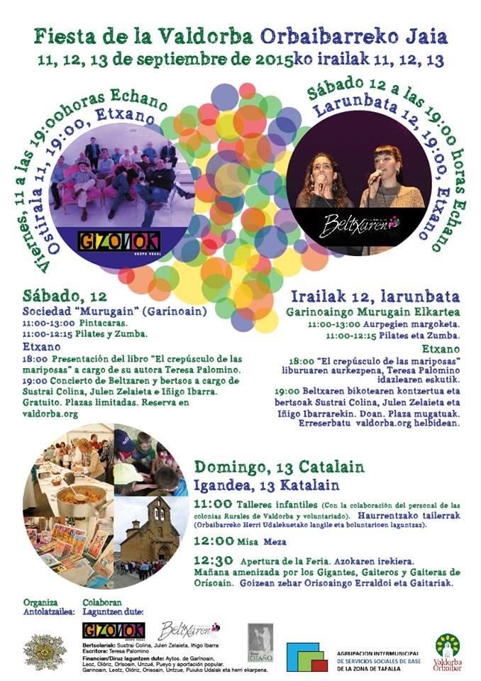 Feria de la Valdorba. Orbibarreko Jaia