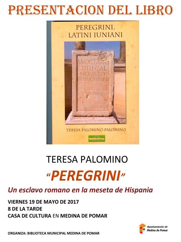 """Presentación del libro """"Peregrini Latini Iuniani"""" de Teresa Palomino"""